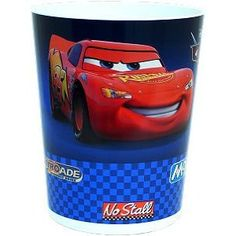 Lightening McQueen trash basket