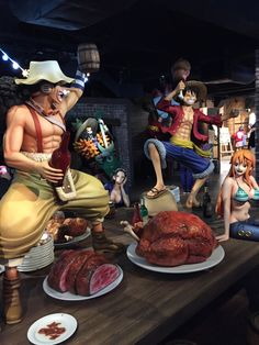 Tokyo One Piece Tower Tokyo One Piece Tower, Straw Hats, One Piece Manga, Sculpture Art, Otaku, Fandoms, Funny, Anime Dolls, Sketches