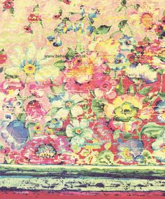 Eijffinger Wallpower Junior 364115 Flower Mirage Reds | Eijffinger Wallpower Junior | Behang koop je online bij Behangexpert !