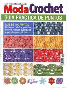 over 100 Crochet Pattern Crochet Daisy, Crochet Lace Edging, Crochet Art, Crochet Diagram, Moda Crochet, Crochet Book Cover, Crochet Books, Crotchet Stitches, Crochet Stitches Patterns
