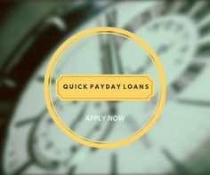 People who don't have a permanent job and fixed salary may often find their hands empty and bank balance nil in the middle or last of the month. For your emergency expenses, you don't have enough funds left in your pocket that's why quick payday loans are introduced for you.