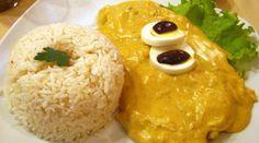 Another delicious Peruvian dish//AJÍ DE GALLINA - COMIDA PERUANA