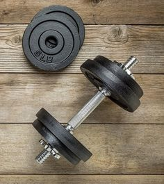 Set Up Home Gym With A Pair Of Dumbbells