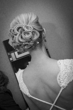 wedding hair Kaylee