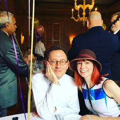 With my boy @MichaelEmerson and our family, enjoying #Easter and the awesomeness of @DelmonicoNOLA !! Via Twitter