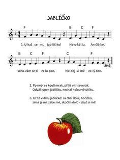 Výsledek obrázku pro písničky v obrázcích Music Do, Kids Songs, Sheet Music, Poems, Autumn, Internet, Drawing, School, Animals