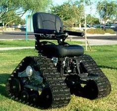 Now thats a wheelchair...