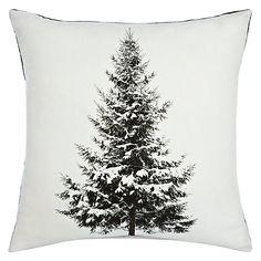 John Lewis Christmas Tree Cushion #johnlewishome #JLhome
