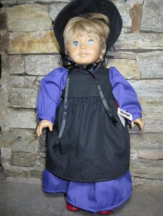 18 Inch American Girl Doll Dress  Amish by starheartcreations, $14.00