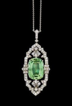 verlobungsring art deco Like the shape of the perimeter (but turned longways) and the openness Art Deco Jewelry, Fine Jewelry, Jewelry Design, Head Jewelry, Art Deco Necklace, Diamond Gemstone, Diamond Jewelry, Diamond Brooch, Antique Jewelry