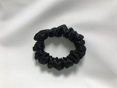 SILK Scrunchie Black 3-Pack