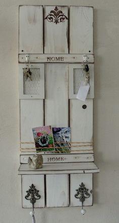 Pinnwände - Dänisches-Edles-Memoregal - ein Designerstück von atelier-nr13 bei DaWanda