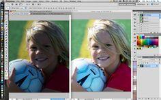 Spot Fix Under Exposed Photos