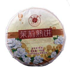 Yunna Puerh Tea SOYI Cooked Jasmine Cake 100g Jasmine Tea Cake Chinese  Health Pu'er Tea Jasmine Cake, Jasmine Tea, Pu Erh Tea, Oolong Tea, Chinese Tea, Tea Cakes, My Tea, Cooking, Health