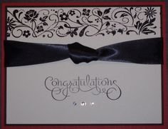Wedding card by barbara1976 - Cards and Paper Crafts at Splitcoaststampers