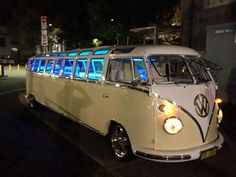 neat..vw bus limo....