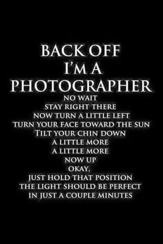 Photography humor                                                                                                                                                                                 More