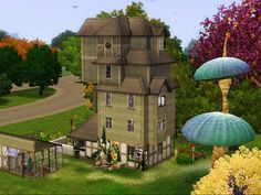 "A wonderful and magical Sims player has recreated The Burrow in the game. | An Amazing Sims User Recreated The Burrow From ""Harry Potter"""