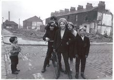 Demolished homes in Ordsall, late 1960s (Laurie Asprey)