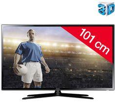 Téléviseur led Pixmania promo tv led pas cher, le SAMSUNG Téléviseur LED 3D UE40F6100 prix promo Pixmania 349.99 € TTC au lieu de 399,99 €