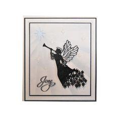 Sue Wilson Festive Dies - Christmas Angel | Hunkydory Crafts