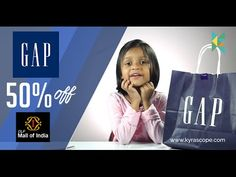 GAP Kids Girls Clothing Haul  DLF  Mall of India, GAP Noida offering 50%...