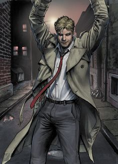 Future's End: Constantine #1 by Juan Ferreyra *