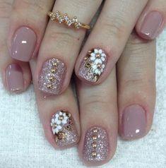 How to choose the shape of nails? - My Nails Classy Nails, Fancy Nails, Pink Nails, Shellac Nails, Toe Nails, Manicures, Nail Polish, Nagellack Design, Gel Nail Designs