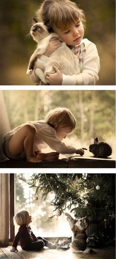 Mother & photographer Elena Shumilova captures photos on her family farm in Russia. Beautiful, dream-like work.