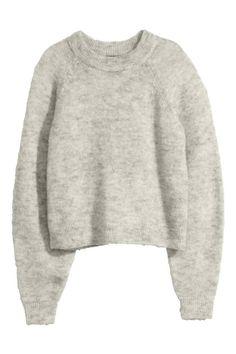 Pull en laine mélangée | H&M