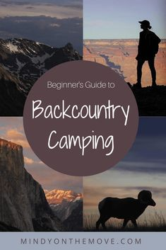 Your first time backcountry camping can be a bit scary so, with this post, I will provide a beginner's guide for your wilderness journey to help put your mind at ease. #backpackingtips #backpacking #campinggear #campingtips #camping #hiking #hikingtips #hikinggear #girlsthatwander #wildernesscamping #wildernessculture #wildernessgear #neverstopexploring #checklist #campinglist #backcountry #optoutside  #nationalparks #findyourpark