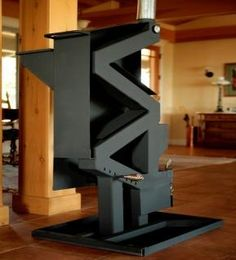 Wise Way Pellet Stove. Non-electric gravity fed pellet stove
