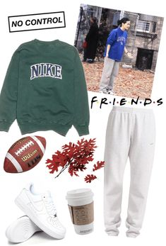 look inspired by Monica during the football episode Outfit Rachel Green Outfits, Estilo Rachel Green, Tomboy Outfits, Cute Casual Outfits, Chic Outfits, Vintage Outfits, Retro Outfits, Friends Mode, Friends Tv