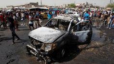 Bei zwei Bombenexplosionen im Norden und Südwesten von Bagdad sind laut Polizeiangaben mindestens vier Menschen getötet und 12 weitere verletzt worden.