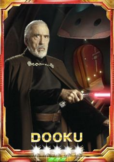 Count Dooku - Custom Star Wars: Force Collection Card by Count Dooku Fan Count Dooku, Counting, Star Wars, Darth Vader, Fan, Stars, Fictional Characters, Collection, Sterne
