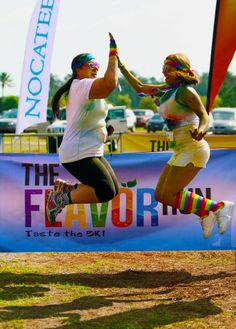 Residents enjoy being active and loved participating in the fun Flavor Run at Nocatee last spring! @Flavor Run