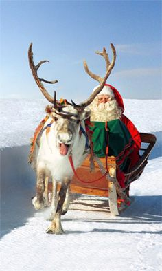 Santatelevision: Official Internet TV with videos about Santa Claus / Father Christmas, reindeer and Lapland in Finland, Santa Claus' home in Rovaniemi. Santa Clause video center in Finnish Lapland Merry Christmas, Father Christmas, Winter Christmas, Vintage Christmas, Christmas Holidays, Christmas Music, Santa And Reindeer, Santa Baby, Santa Clause