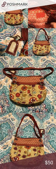 FOSSIL Floral Canvas Hobo Shoulder Bag FOSSIL Floral Canvas w/Red Patent Leather Hobo Shoulder Bag. Please see photos for more details.  Thank you for looking at my post be sure to check out my closet. Follow me so you can keep updated with all my good deals.   Bundle your likes & I will send you a private offer. Click ADD TO BUNDLE on each item you like from my closet, I will send an exclusive offer with no obligation to buy.   I accept reasonable offers I'm a fast shipper. I look forward…