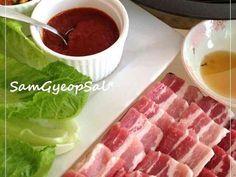 おうちで韓国の豚バラ焼肉☯サムギョプサルの画像