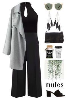 """""""Untitled #143"""" by camillajoh ❤ liked on Polyvore featuring Maryam Nassir Zadeh, Charlotte Russe, Jérôme Dreyfuss, Miss Selfridge and Karen Walker"""