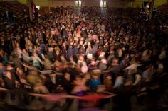 The Spiral Dance, a popular dance at Pagan rituals and festivals.  Look at all those people!