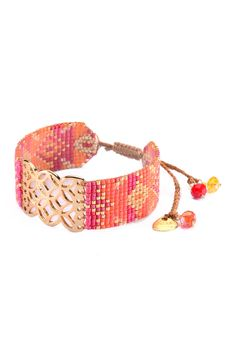 Mishky Lana Lattice Beaded Slide Bracelet