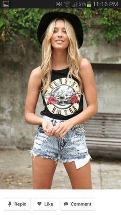love this Guns N Roses shirt
