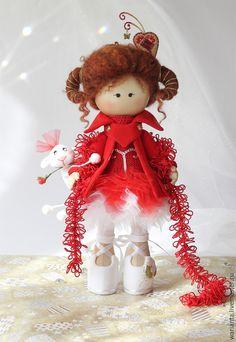 Fabric art doll