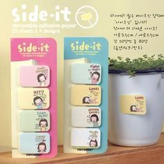 MissYou - Mini Cartoon Memo Stickers