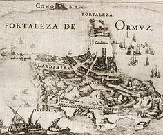 The island of Hormuz was captured by an Anglo-Persian force in the 1622 Capture of Ormuz.