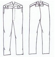 GRSP-104-Boy's Sack Coat Pattern   Galla Rock Shirt and Patterns