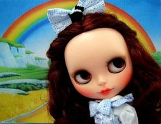 Somewhere Over the Rainbow - Custom Blythe Doll Dorothy Gale from The Wizard of Oz - by Madame Mix, via Flickr