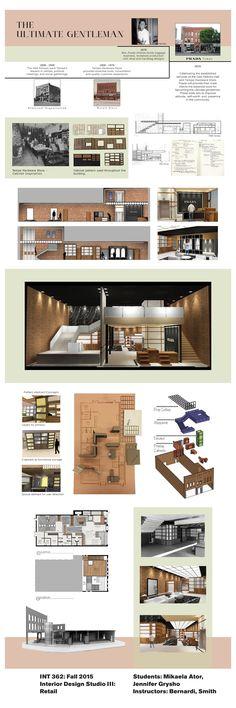25 Awesome Interior Design Undergraduate Student Work Images