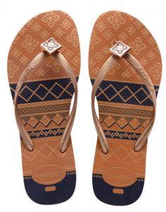 e6590780c7242 Havaianas Slim Flower Copper Flip Flop - Havaianas - Women